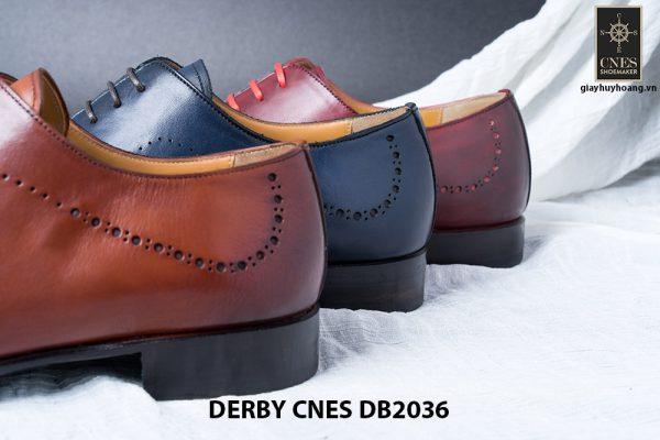Giày da nam da bê đẹp Derby CNES DB2036 009