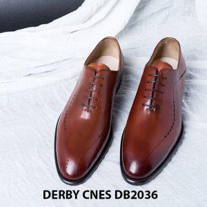 Giày da nam da bê đẹp Derby CNES DB2036 006