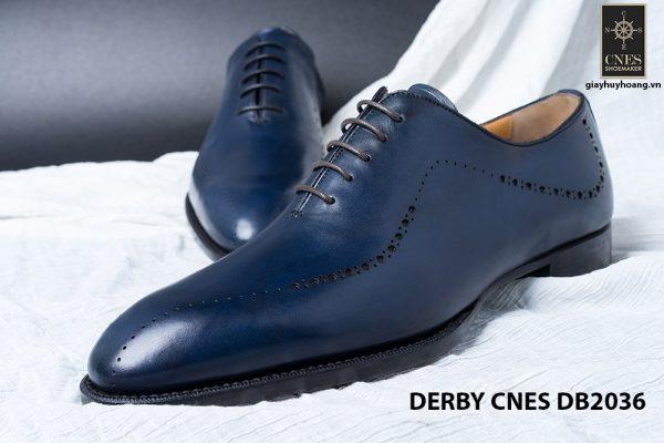 Giày da nam da bê đẹp Derby CNES DB2036 005