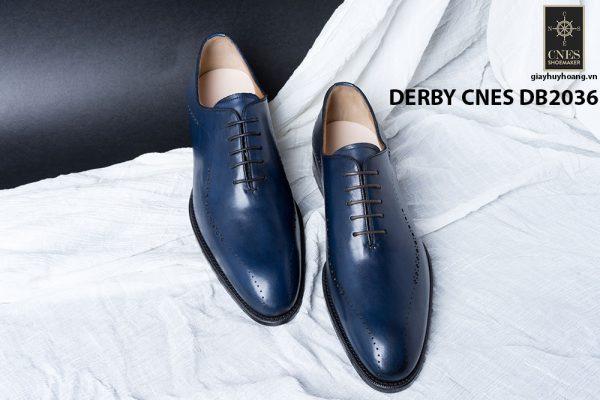 Giày da nam da bê đẹp Derby CNES DB2036 004