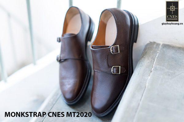 Giày tây nam cao cấp Monkstrap CNES MT2020 001