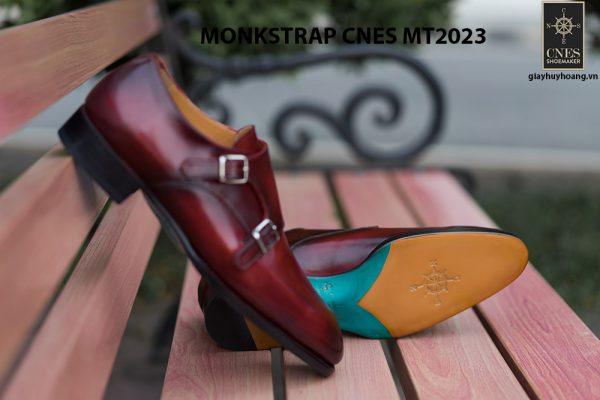 Giày da nam không dây Monkstrap CNES MT2023 007