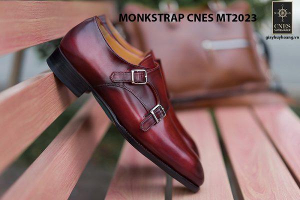 Giày da nam không dây Monkstrap CNES MT2023 006