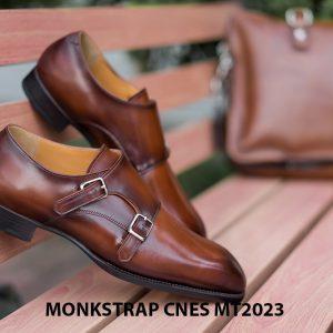Giày da nam không dây Monkstrap CNES MT2023 005