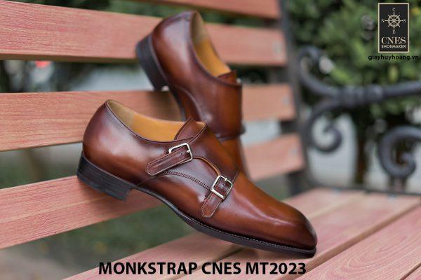 Giày da nam không dây Monkstrap CNES MT2023 004