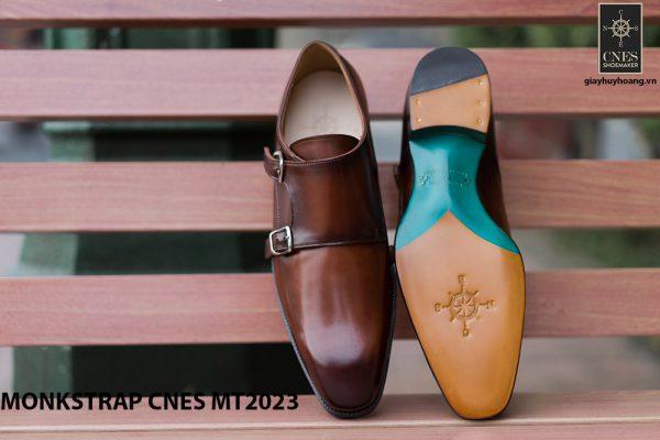 Giày da nam không dây Monkstrap CNES MT2023 002