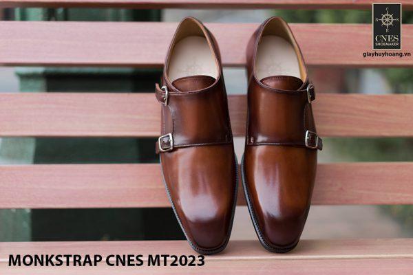 Giày da nam không dây Monkstrap CNES MT2023 001