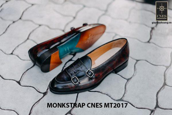 Giày tây nam Double Monkstrap CNES MT2017 004