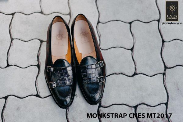 Giày tây nam Double Monkstrap CNES MT2017 003