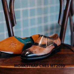 Giày tây nam xỏ khóa Monkstrap CNES MT2030 006