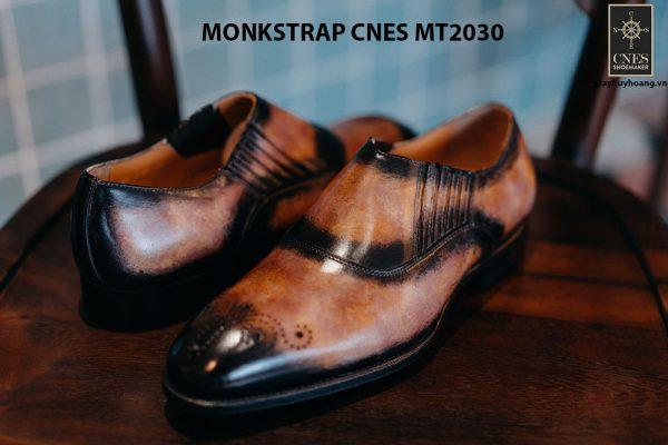 Giày tây nam xỏ khóa Monkstrap CNES MT2030 005