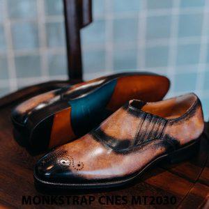 Giày tây nam xỏ khóa Monkstrap CNES MT2030 004