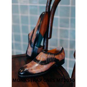 Giày tây nam xỏ khóa Monkstrap CNES MT2030 003
