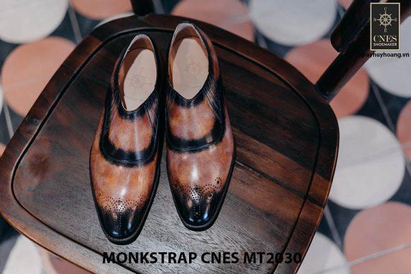 Giày tây nam xỏ khóa Monkstrap CNES MT2030 001