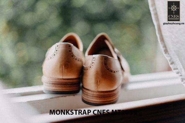 Giày da nam Single Monkstrap CNES MT2039 005