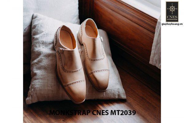 Giày da nam Single Monkstrap CNES MT2039 004