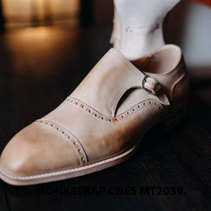 Giày da nam Single Monkstrap CNES MT2039 003