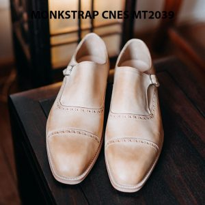 Giày da nam Single Monkstrap CNES MT2039 001