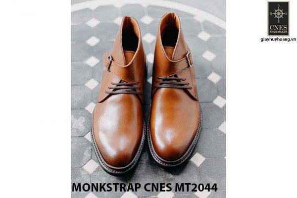 Giày da nam sang trọng Monkstrap CNES MT2044 006