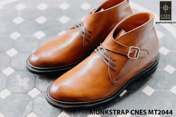 Giày da nam sang trọng Monkstrap CNES MT2044 001