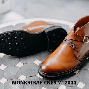 Giày da nam sang trọng Monkstrap CNES MT2044 005