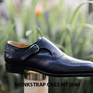 Giày da nam cao cấp Monkstrap CNES MT2040 006