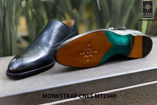Giày da nam cao cấp Monkstrap CNES MT2040 005