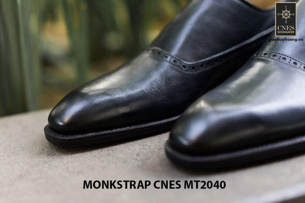 Giày da nam cao cấp Monkstrap CNES MT2040 004