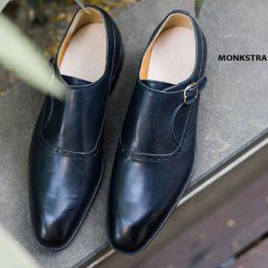 Giày da nam cao cấp Monkstrap CNES MT2040 003