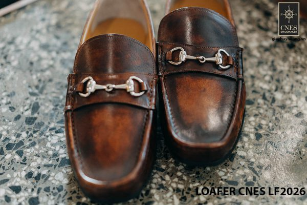 Giày mọi nam hàng hiệu Loafer CNES LF2026 001