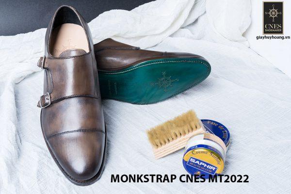 Giày tây nam cao cấp Monkstrap CNES MT2022 003