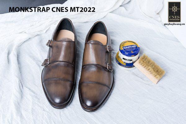 Giày tây nam cao cấp Monkstrap CNES MT2022 001