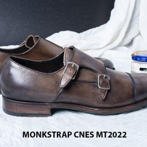 Giày tây nam cao cấp Monkstrap CNES MT2022 002