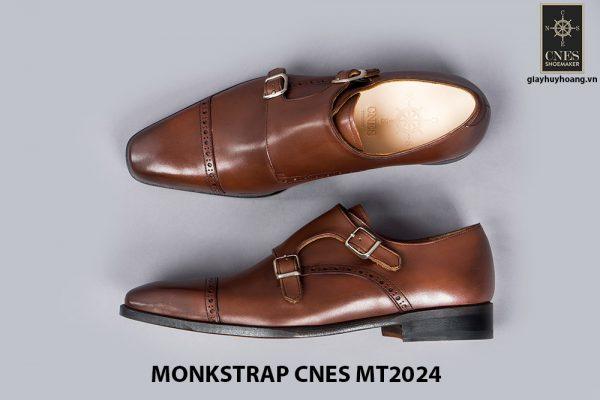 Giày tây nam Monkstrap CNES MT2024 002