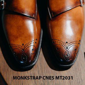 Giày tây nam Monkstrap CNES MT2031 006