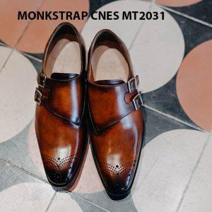 Giày tây nam Monkstrap CNES MT2031 001
