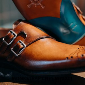 Giày tây nam Monkstrap CNES MT2031 005