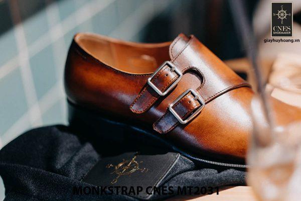 Giày tây nam Monkstrap CNES MT2031 004