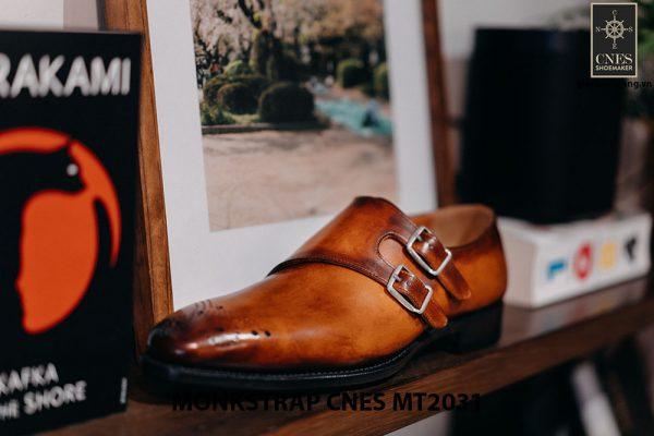 Giày tây nam Monkstrap CNES MT2031 003