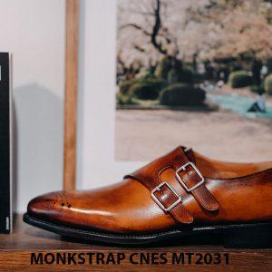 Giày tây nam Monkstrap CNES MT2031 002