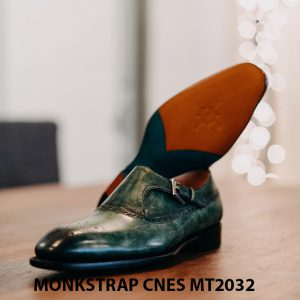 Giày tây nam Monkstrap CNES MT2032 004