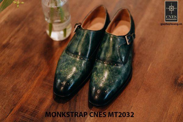 Giày tây nam Monkstrap CNES MT2032 003