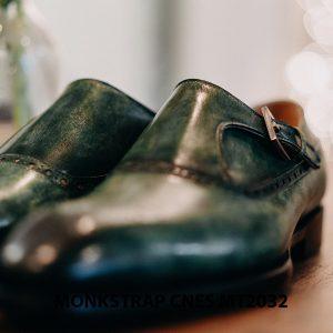 Giày tây nam Monkstrap CNES MT2032 002