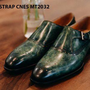 Giày tây nam Monkstrap CNES MT2032 001