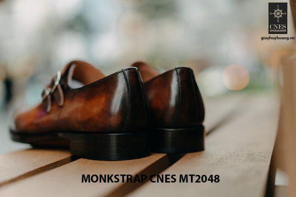 Giày tây nam không dây Monkstrap CNES MT2048 008