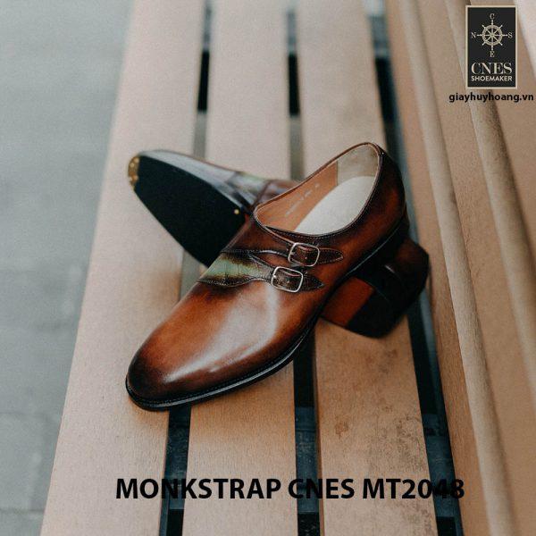 Giày tây nam không dây Monkstrap CNES MT2048 003