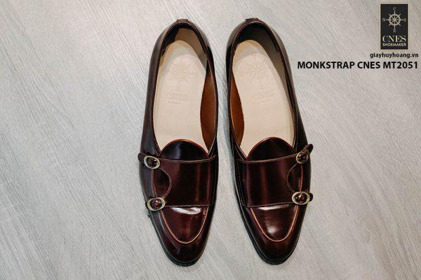 Giày da nam đẹp Monkstrap CNES MT2051 001