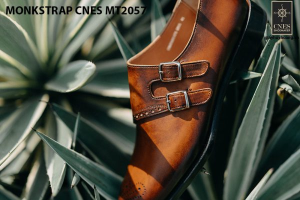 Giày tây nam chính hãng Monkstrap CNES MT2057 006