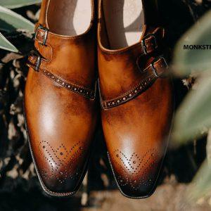 Giày tây nam chính hãng Monkstrap CNES MT2057 004