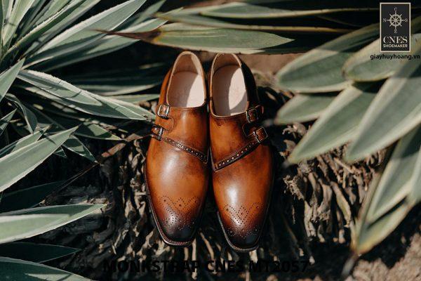 Giày tây nam chính hãng Monkstrap CNES MT2057 001